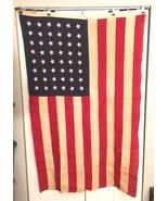 48 Star Bulldog Bunting United States American 5'x8' Flag Sewn Stars & S... - $222.74