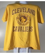 Cleveland Cavaliers Men's T Shirt Size XL Old Navy Yellow Brown - $8.90
