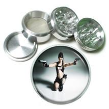 Cosplay Pin Up Girls D3 63mm Aluminum Kitchen Grinder 4 Piece Herbs & Spices - $11.05