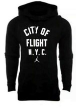 Nike Men's Jordan City of Flight N.Y.C  Pullover NEW AUTHENTIC Black 943... - $59.49