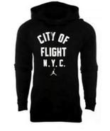 Nike Men's Jordan City of Flight N.Y.C  Pullover NEW AUTHENTIC Black 943... - $59.49