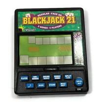 Radica Electronic Handheld Blackjack 21 Casino Regular Face Up 2 Player  - $24.74