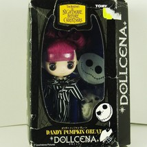 Tomy Dollcena Dandy Pumpkin Great Tim Burton's The Nightmare Before Chri... - $65.00