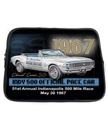 1967 chevy camaro indy 500 official pace car neoprene tablet case usa made - $36.09