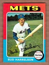 1975 Topps #395 Bud Harrelson New York Mets Near Mint cond. pack fresh s... - $3.60