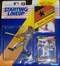 David Justice 1992 Starting Lineup - $5.83