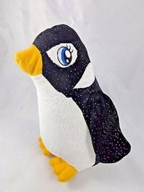 "Fiesta Black Sparkles Penguin Plush 9.5"" Stuffed Animal toy - $6.95"