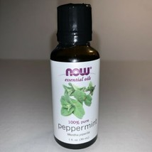 NOW Foods 100% Pure PEPPERMINT Aromatherapy Essential Diffuser Oil - 1 fl oz  - $9.95