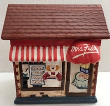 Mrs. Fields Ceramic Store Front Cookie Jar - $29.69