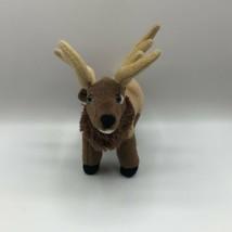 "Wild Republic Bull Elk Plush 8"" Deer Reindeer Caribou - $15.83"