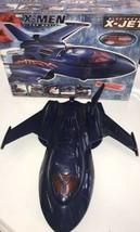 X-MEN THE MOVIE X JET ELECTRONIC X-JET Toy Biz Rare 2000 toy in box Used - $93.49
