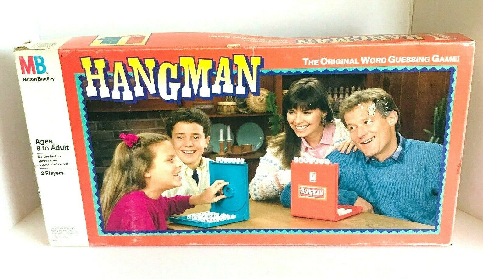 Primary image for Hangman The Original Word Guessing Board Game Milton Bradley Incomplete