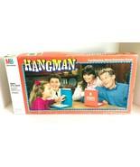 Hangman The Original Word Guessing Board Game Milton Bradley Incomplete - $19.99