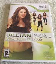 Jillian Michaels Fitness Ultimatum 2009 (Nintendo Wii, 2008) - $6.90