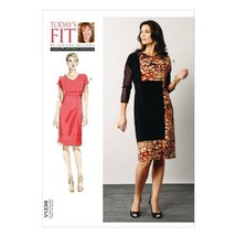 Vogue Patterns V1336 Misses' Dress Sewing Template - $4.83