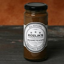 Kozliks Balsamic Mustard with Figs and Dates (8.8 ounce) - $8.99