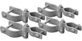 Galvanized Chain Link Drive Gate Hardware Set, 2-3/8-In. - $24.74