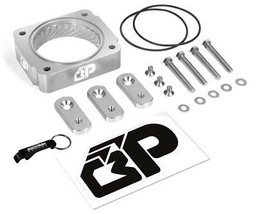 Fits 2005-2010 Ford Mustang Silver Throttle Body Spacer Kit 4.0 L V6 - $86.40