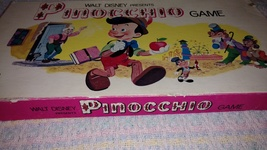 Walt Disney Presents Parker Brothers Pinocchio Game 1971 USED - $17.50