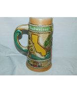 1981 Budweiser California Limited Edition Beer Stein 7 1/2 Inches Tall - $15.99