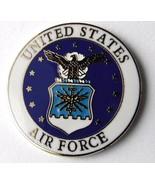 US Air Force USAF Regular Emblem Lapel Pin Badge 1 Inch - $4.85
