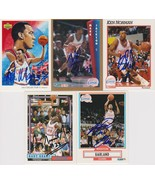 Los Angeles Clippers Signed Lot of (5) Trading Cards - Manning, Mark Jac... - $14.99