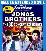 Jonas Brothers - The Concert Experience (Blu-ray Disc, 2009, 3-Disc Set)