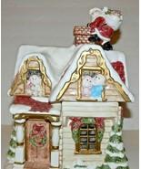 FITZ & FLOYD Old World Christmas Victorian House Cookie Jar 1990 ek - $80.00