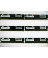 24GB 6X 4GB Micron MT36JSZF51272PZ HP 500203-061 2Rx4 10600R 1333 DDR3 E... - $87.62