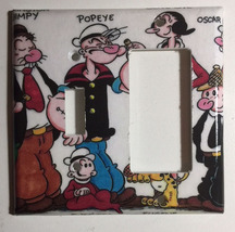 Popeye Olive Comics Light Switch Power Outlet Wall Cover Plate Home Decor image 5