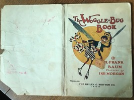 The Woggle-Bug book 1st edition, 1st State. L.  Frank Baum RARITY  1905 - $761.46