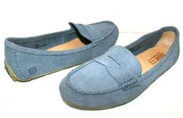 ❤️ BORN Malena Blue Premium Suede Comfort Driving Loafer 7.5 M EXCELLENT... - $33.24