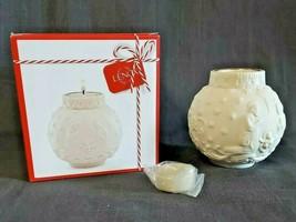 Lenox Ornamental Glow Nativity Votive Tealight Holder Porcelain Bisque C... - $17.38