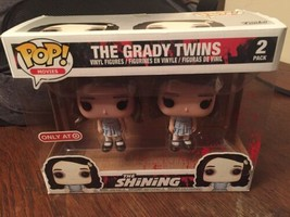 Funko Pop! The Grady Twins 2-Pack The Shining Target Exclusive horror  - $46.43