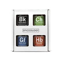 4-Pack BBQ Rubs - Spiceology Smoky Honey Habanero, Chile Margarita, Gree... - £61.17 GBP