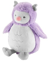 "NWT Carters Plush Toy Stuffed Animal Owl 8"" - 10"" Lovey Forest Bird Night Purple - $18.99"