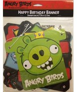 Angry Birds Happy Birthday Banner (1ct) by Designware - $19.59
