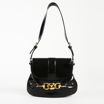 Gucci Patent Leather Hersebit Shoulder Bag - $335.00