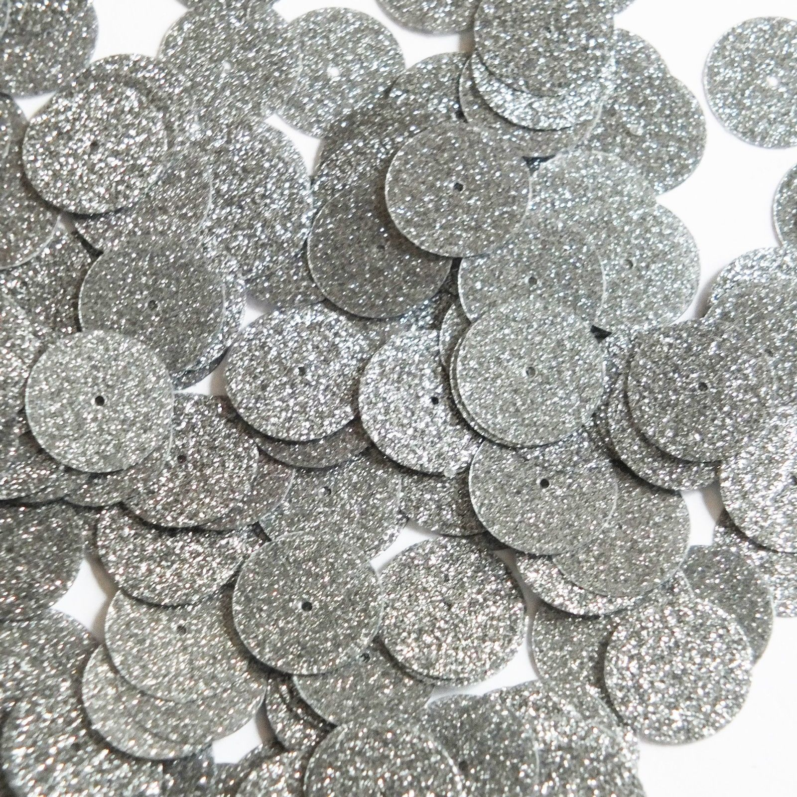 Navette Leaf Sequin 1.5 Crystal White Metallic Sparkle Glitter Texture Couture Paillettes