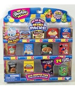 NEW Shopkins Oh So Real Mini Packs Toy Food Rice Krispies Pop Tarts Swis... - $15.88