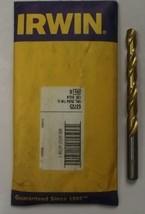Irwin 63725 25/64 Titanium Coated Drill Bit 6pcs USA - $19.80