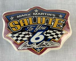 Mark Martin NASCAR T Shirt Racing Tee Limited Sealed Promo Cotton Men's XL - $19.99
