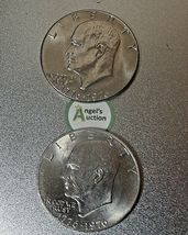 Eisenhower Dollar 1976 P and 1976 D AA20D-CND8003 image 7