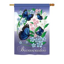 "JAN_Mariposas Celestes - 28"" x 40"" Impressions House Flag - H104073 - $40.97"