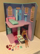 Barbie Talking Townhouse Dollhouse 2002 Access Card Electronic Lights Sounds  - $99.99
