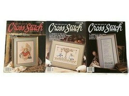 Lot of 3 For The Love Of Cross Stitch Magazines 1989 May Sept Nov Vintage - $13.85