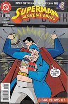 Superman Adventures Comic Book #15 DC Comics 1998 NEAR MINT NEW UNREAD - $3.50