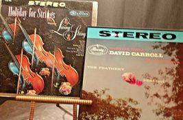 Holiday for Strings and Voices Violins David Carroll and his orchestra AA20-2120 image 3