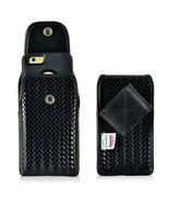 Genuine Leather Basket Weave Police Case fits LG K8 or K8 v - $44.99