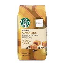 Starbucks Caramel Flavored Ground Coffee, 11-Ounce Bag - $14.99